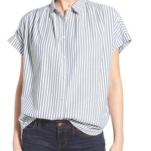 Madewell Central Stripe cotton shirt